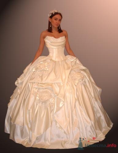 Очень пышные свадебные платья - Самые
