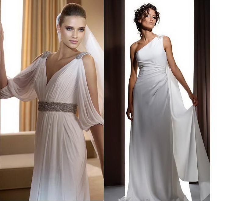 Как сшить платье в греческом стиле своими руками видео