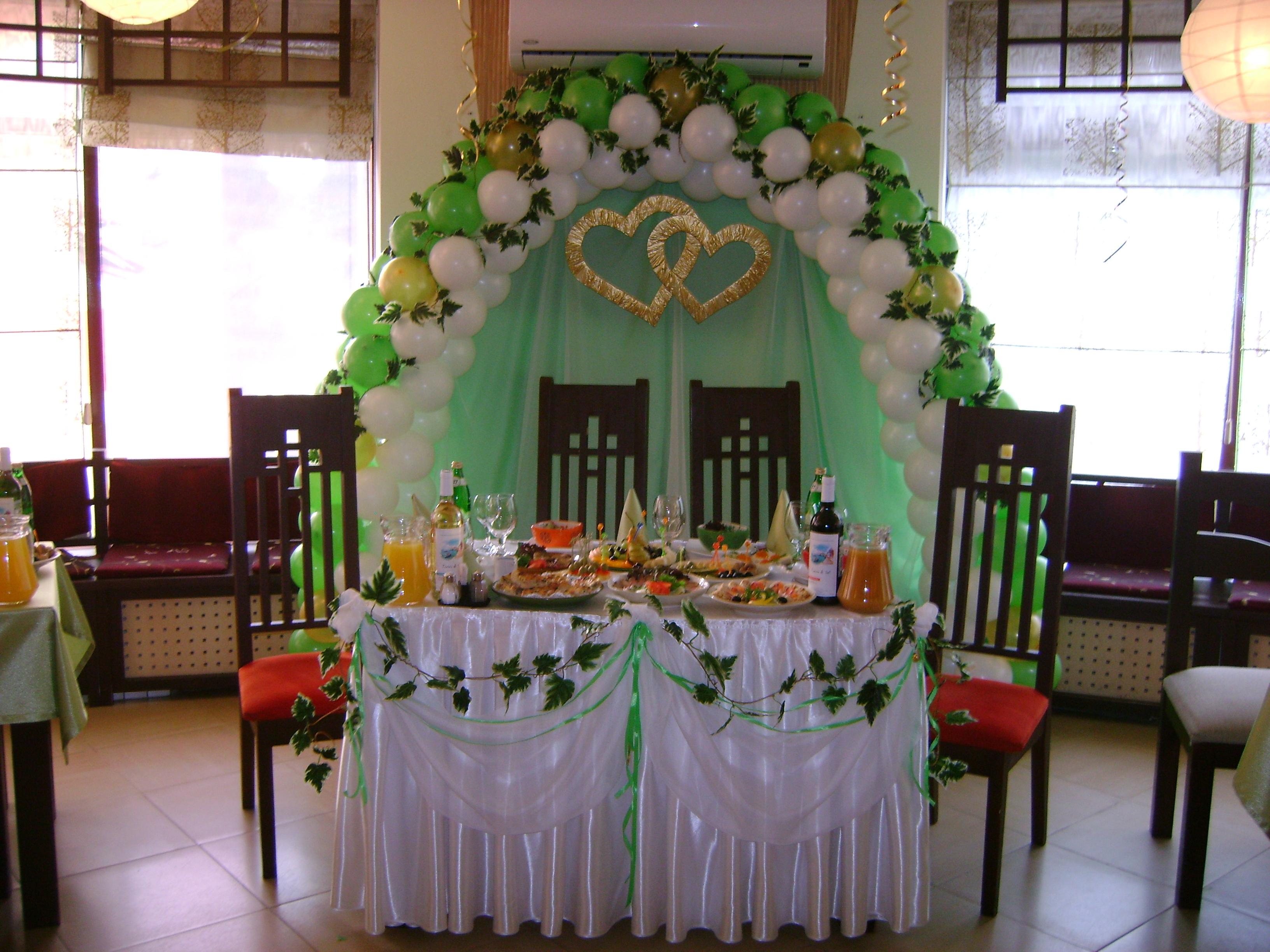 Украшение места жениха и невесты своими руками