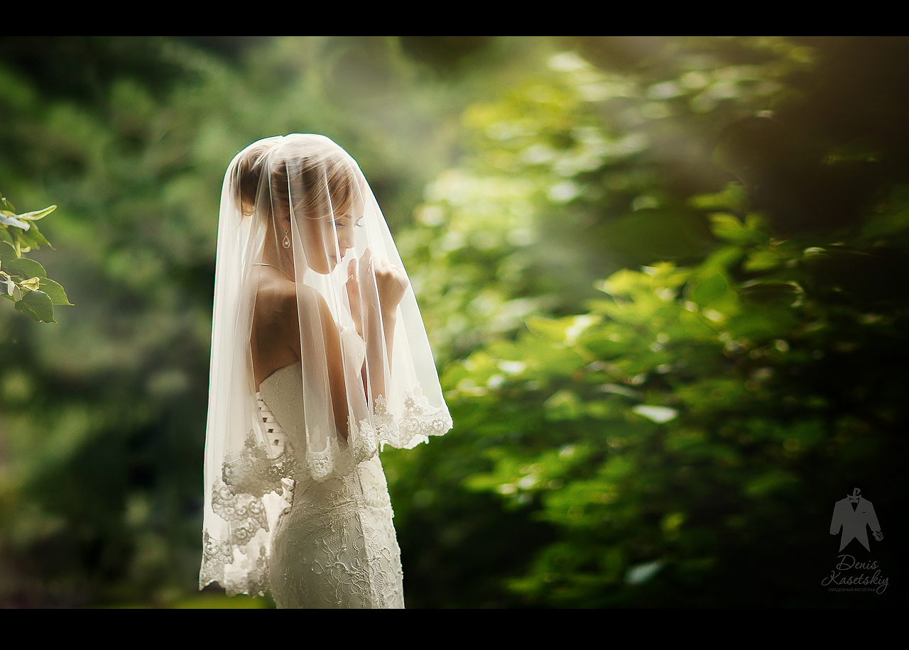 Фото девушки в свадебном 10 фотография