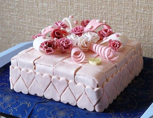 Торт красивый своими руками