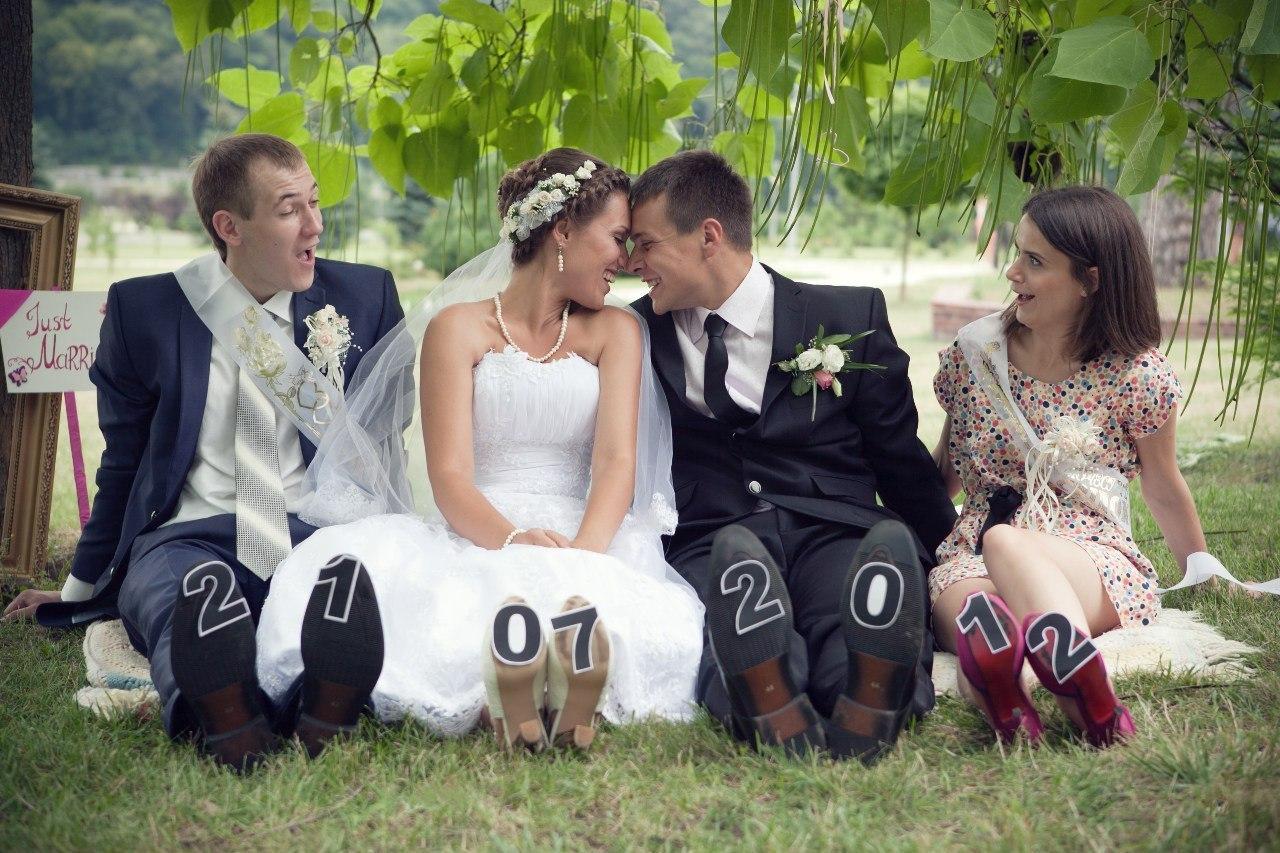 Свадьба с друзьями своими руками