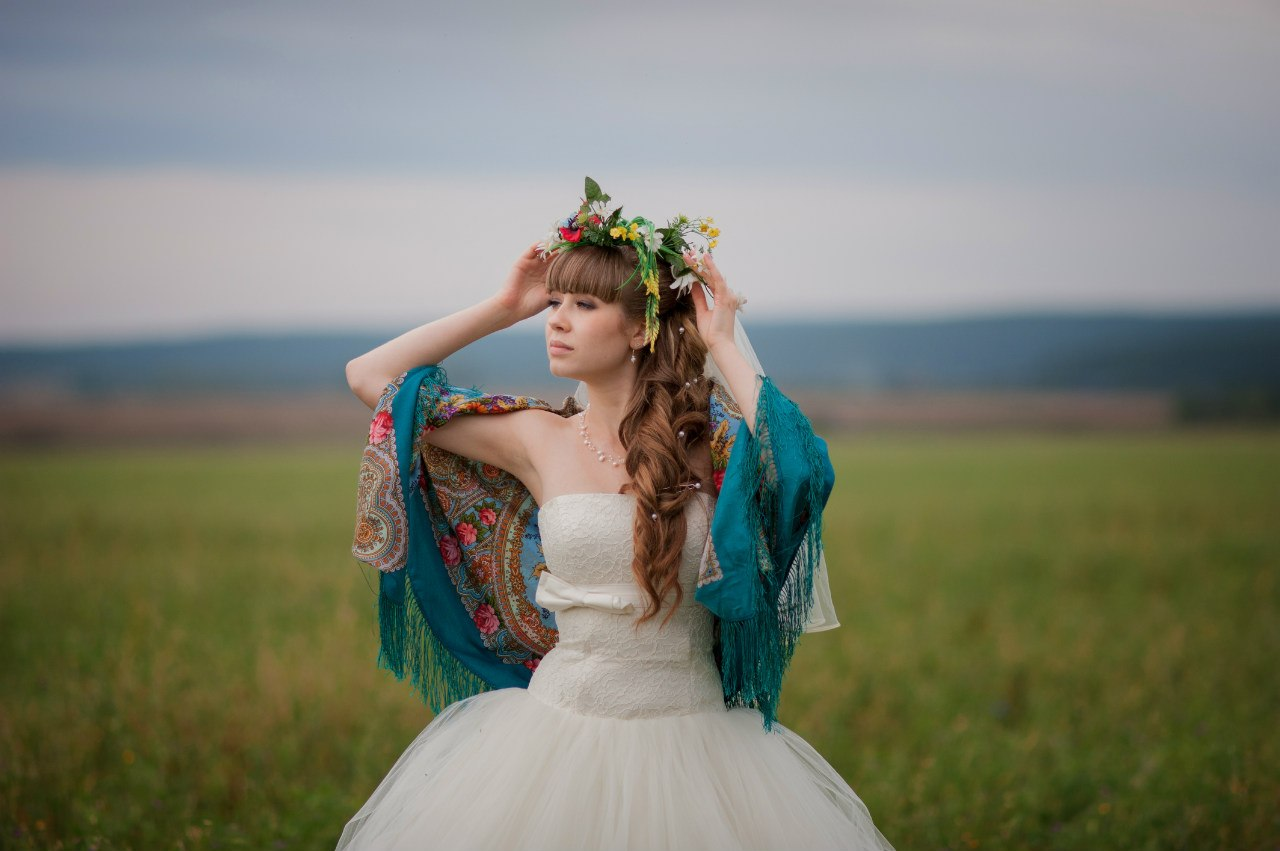 Фото невест в деревне, Свадьба без гламура и пафоса. Фото деревенской свадьбы 21 фотография