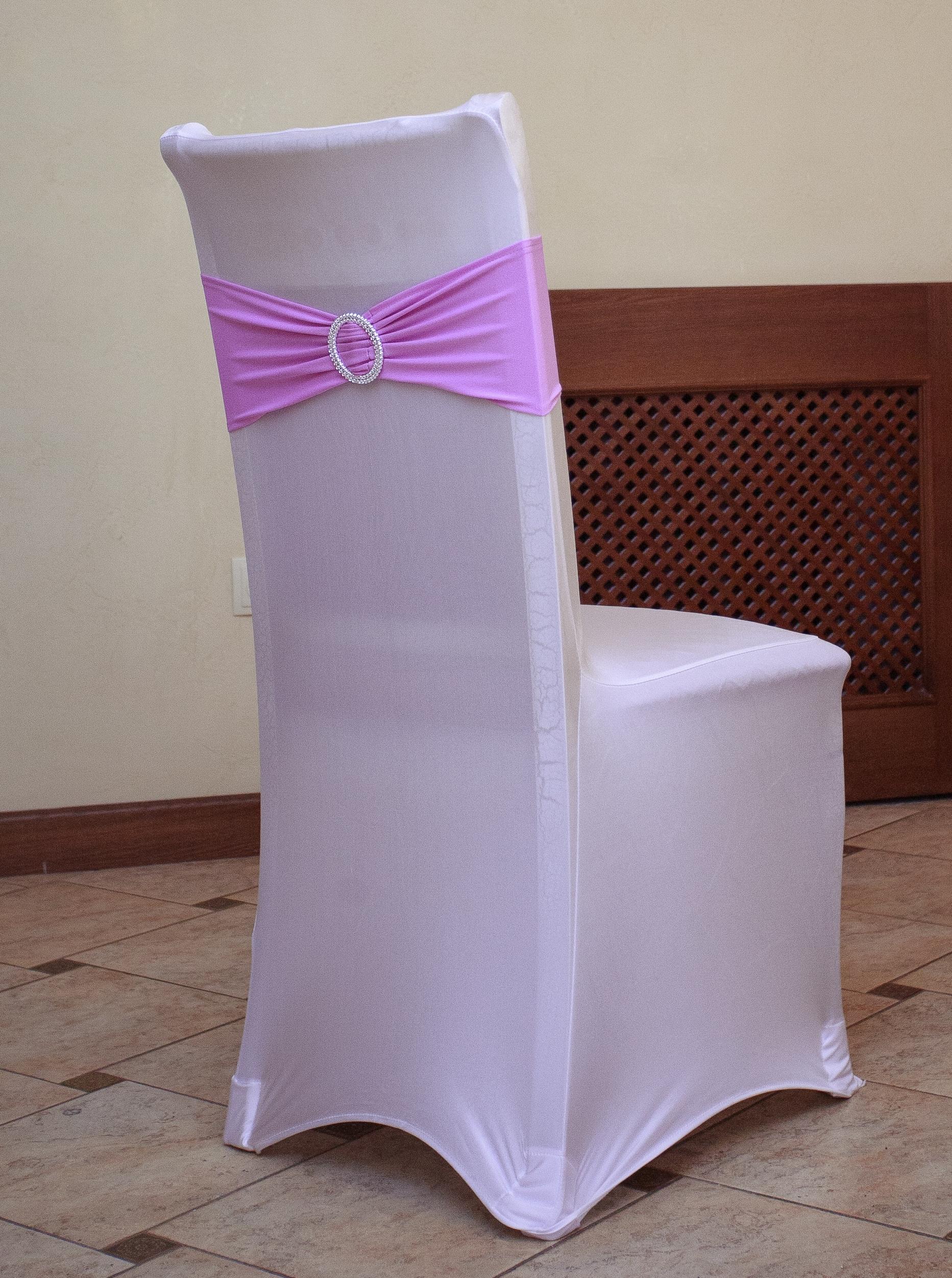 Сшить чехол для стула с бантом