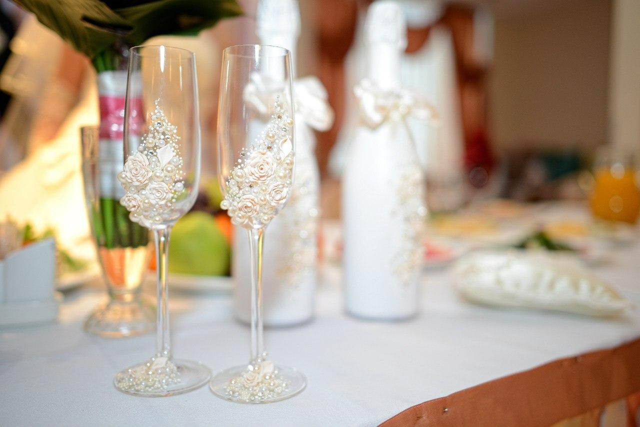 Фото свадеб с бокалами