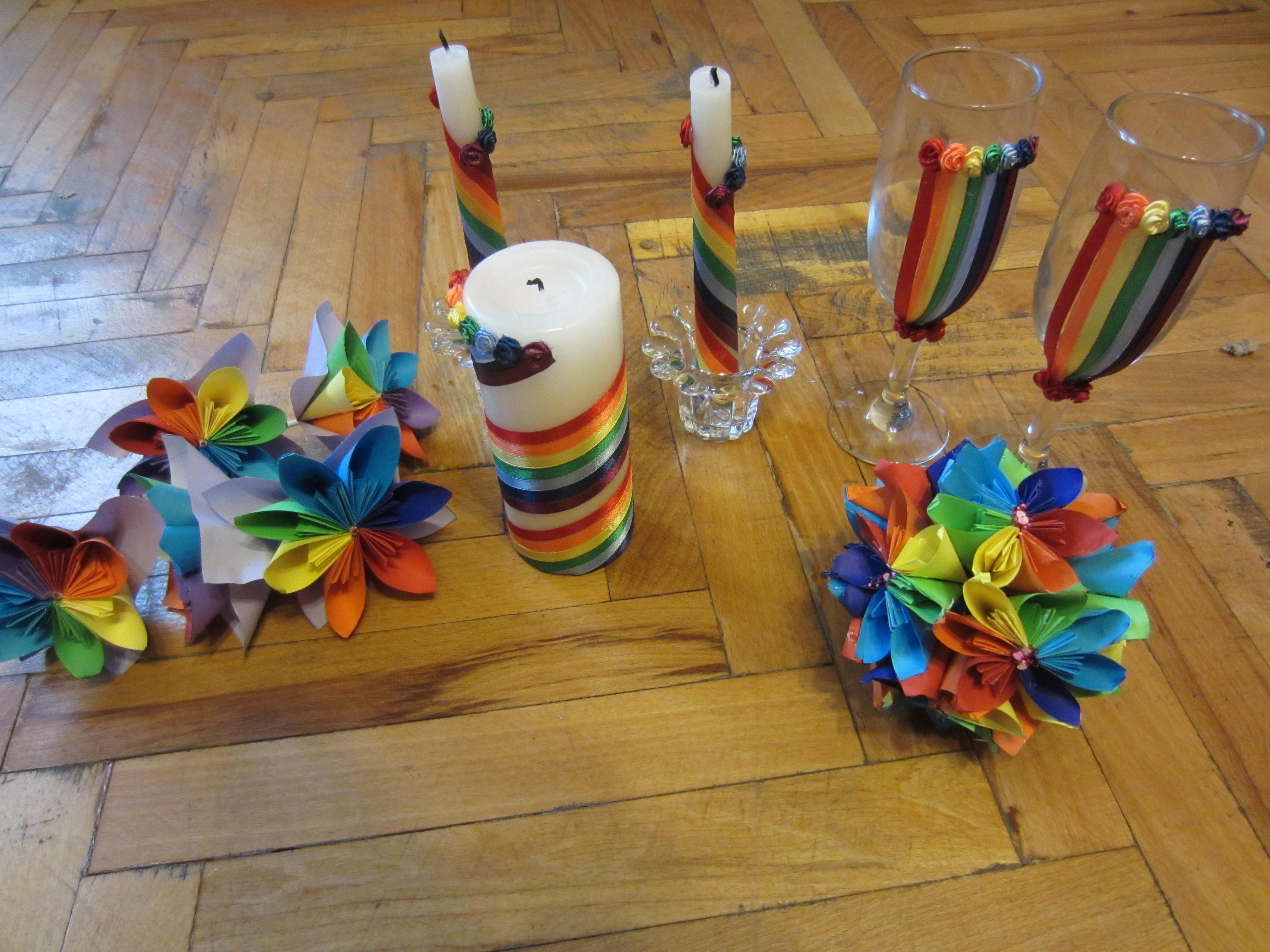 Радуга своими руками для детского сада. Мастер-класс с пошаговыми фото 56