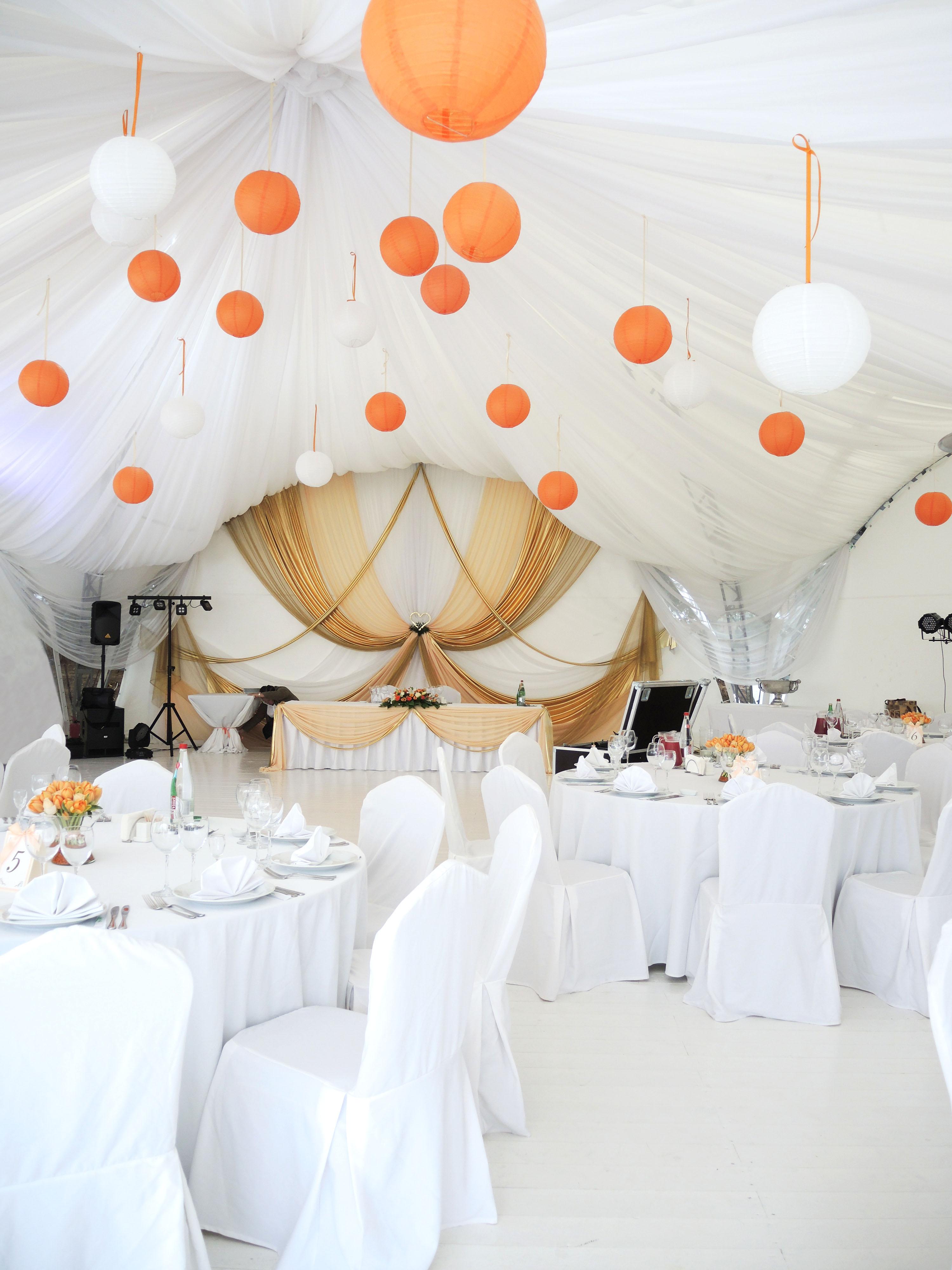 Как украсить зал на свадьбу схемы