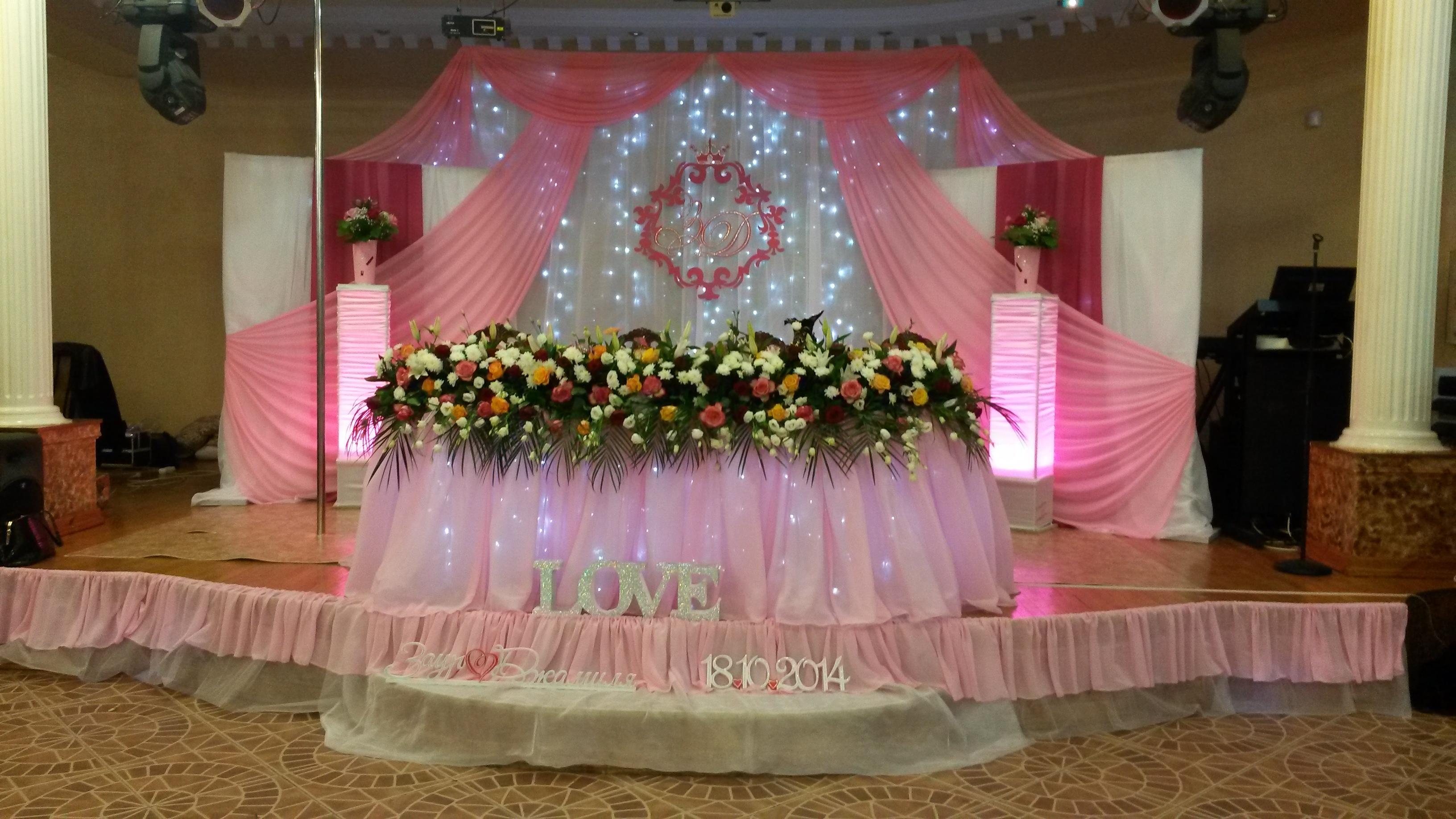 Оформление праздников свадеб фото