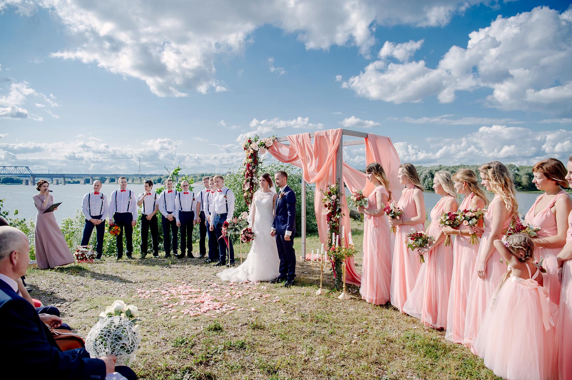 Свадьба с выездом фото