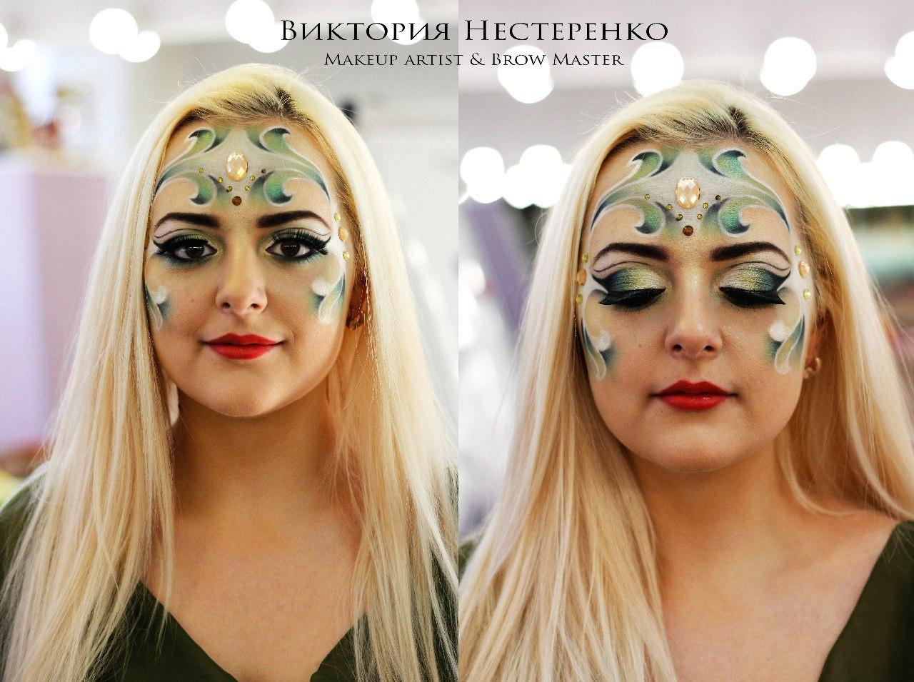 Дипломные работы по макияжу
