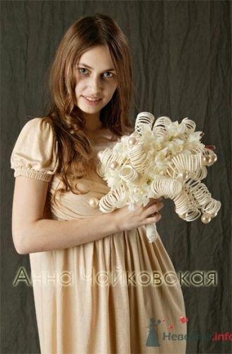 Необычный букет невесты из всего на свете. - фото 566 simik