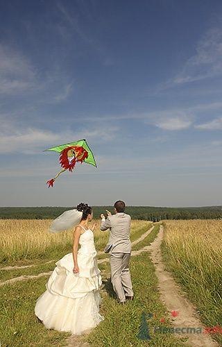 Запускаем воздушного змея - фото 570 Невеста01