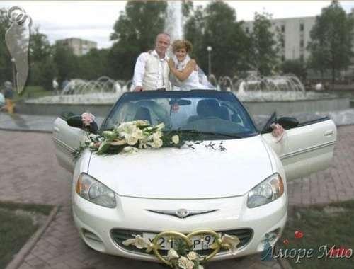 Кабриолет Chrysler Sebring - фото 13092 Невеста01