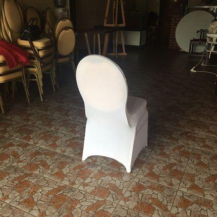 Оформление стульев чехлами