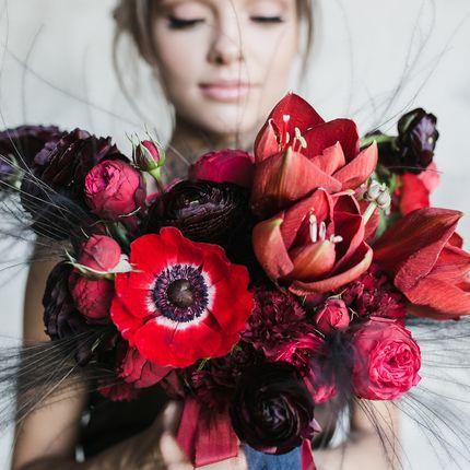 """Букет невесты """"Яркая весна"""""""