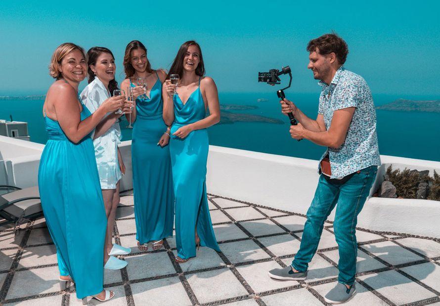 Видеосъёмка свадьбы в Греции