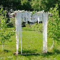 Арка для свадьбы из макраме в прокат