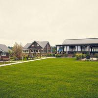 Площадка для свадьбы весной. Загородная свадебная площадка Ранчо.