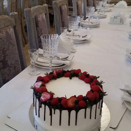 """Одноярусный торт """"Остров любви"""", 1 кг"""