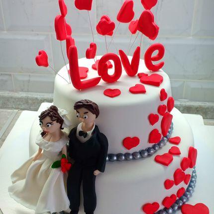 """Торт """"Влюбленные"""", цена за 1 кг"""