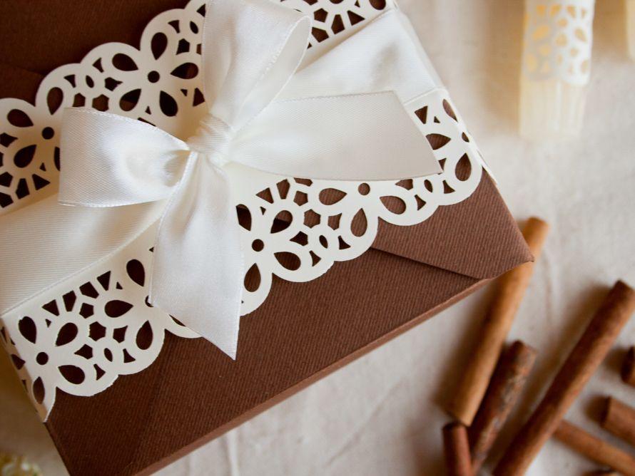 Коробочка для сладких подарков