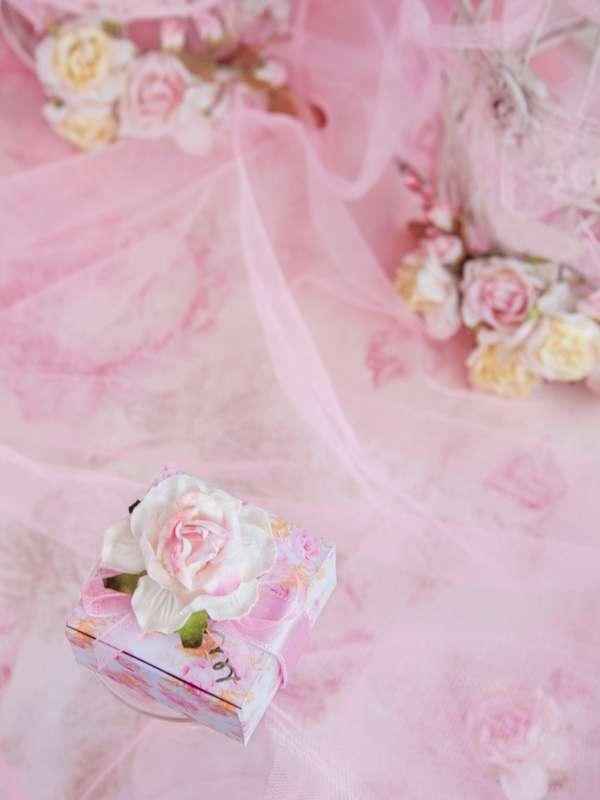 """бонбоньерка коробочка с розой - фото 12777274 Свадебные бонбоньерки """"Бон-бон"""""""