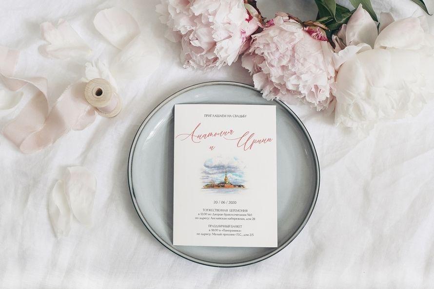 Фото 19778359 в коллекции Свадебное приглашение в классическом стиле - Alexandra Fedoseeva - свадебные приглашения