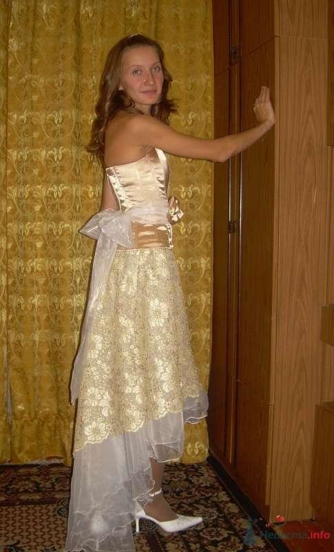 Комплект свадебный Золотой - фото 63142 Ателье свадебной и вечерней одежды Ирины Балявиной