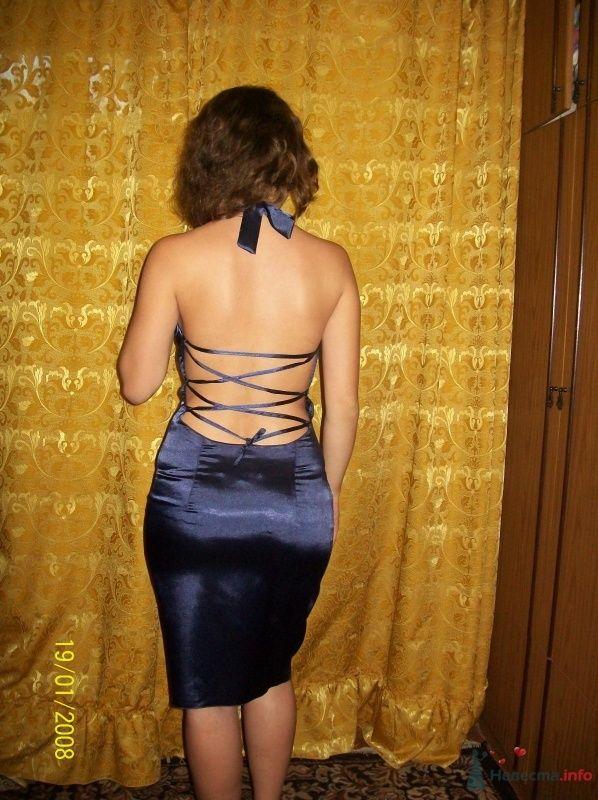 Платье с открытой спиной и украшение ручной работы - фото 63235 Ателье свадебной и вечерней одежды Ирины Балявиной