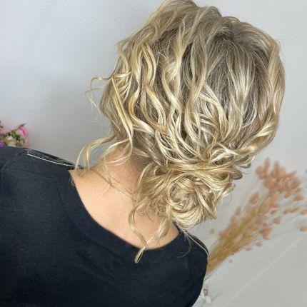 Локоны - причёски