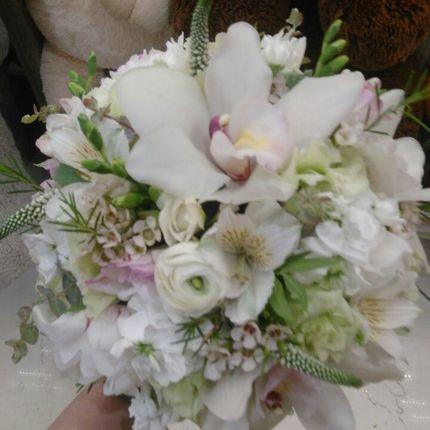 Букет невесты экзотичный