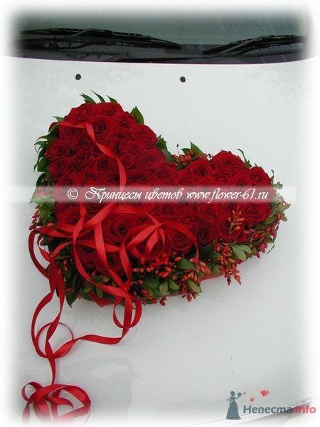 Оформление свадебного автомобиля от  Принцессы Цветов  - фото 63408 Невеста01