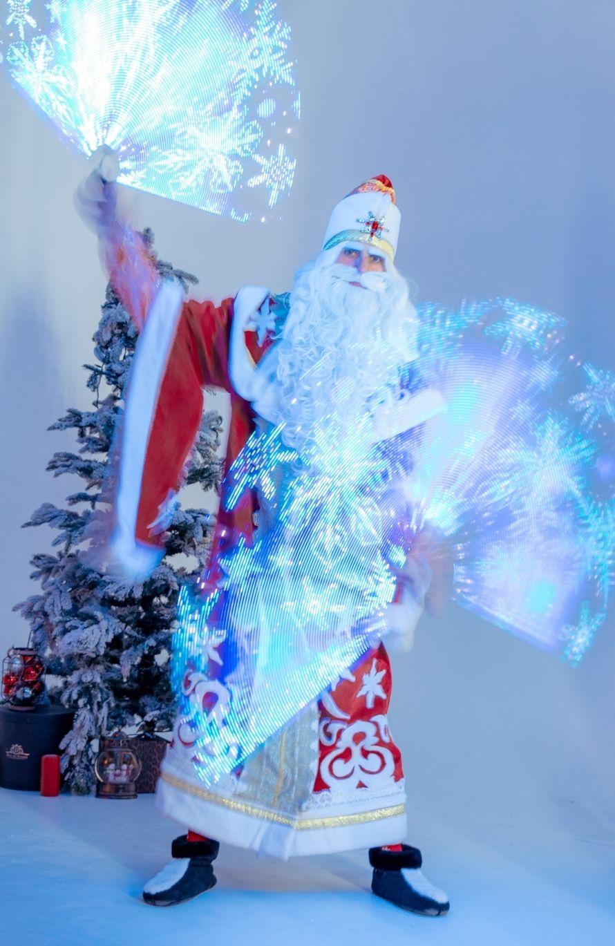 Новогоднее световое пиксельное шоу