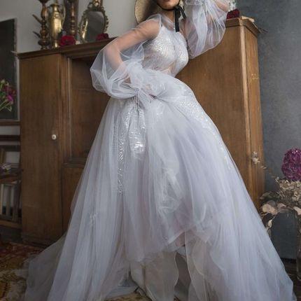 Пышное платье с фатином