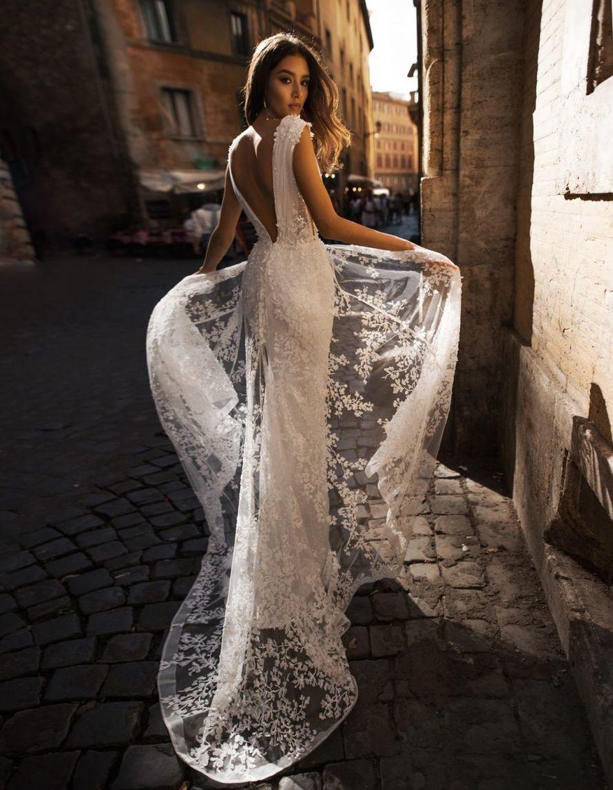Нежное платье в пол