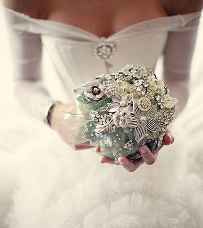 Букет невесты на серебряную свадьбу своими руками