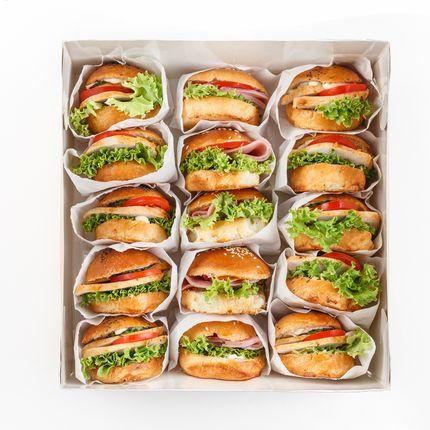 Доставка закусок - Min box