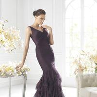 Темно-фиолетовый для подружки невесты