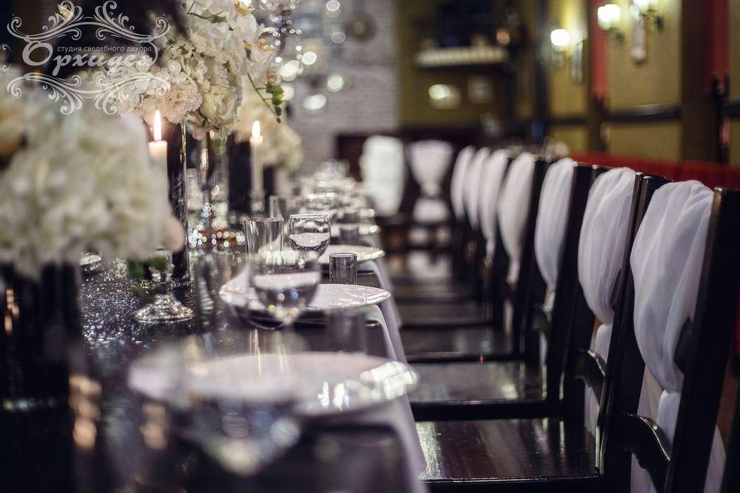 """Черно-белая свадьба - фото 14525308 Студия свадебного декора """"Орхидея"""""""