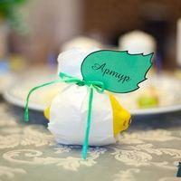 Бонбоньерки , свадебные таблички