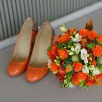 """Необычный букет для прекрасной невесты на свадьбу в стиле """"Золотая осень"""""""