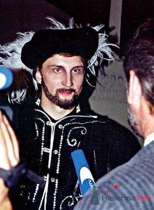 """Интервью каналу """"РЕН-ТВ"""" после спектакля (2000 год). - фото 3561 Невеста01"""