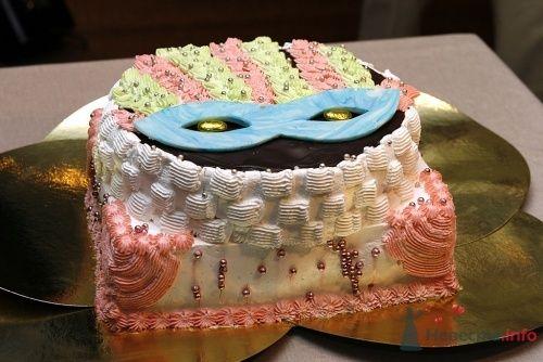 """Торт со свадьбы """"Венецианский Карнавал"""". - фото 12573 Невеста01"""
