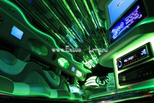 Фото 4197 в коллекции Лимузин Hummer H2 - Экзотические лимузины - аренда лимузинов