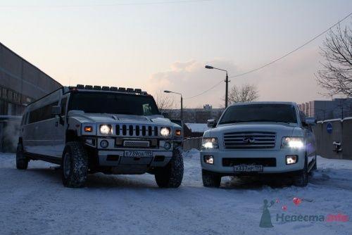 Прокат лимузина в Москве Infiniti QX56 и Hummer H2 - фото 5299 Экзотические лимузины - аренда лимузинов