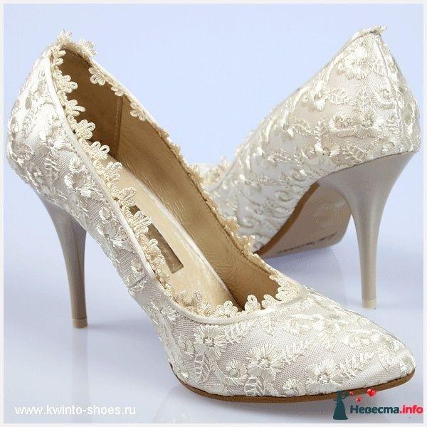 Почти как мои туфельки, только страз не хватает! - фото 87921 Невеста Настенька