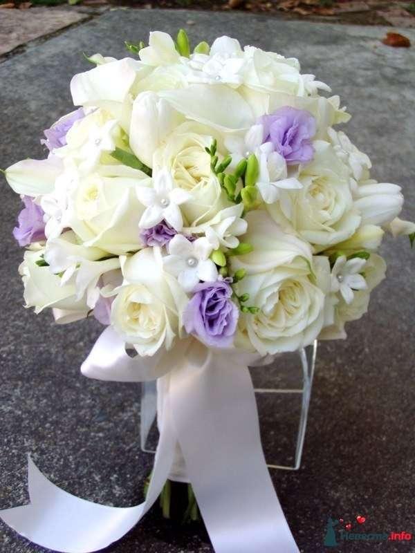 Фото 90131 в коллекции Букет невесты, подружек, и бутоньерка жениха! - Невеста Настенька