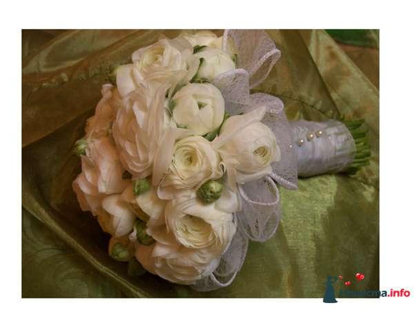 Фото 90133 в коллекции Букет невесты, подружек, и бутоньерка жениха! - Невеста Настенька