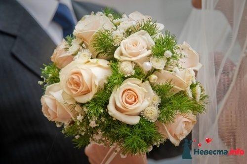 Фото 90149 в коллекции Букет невесты, подружек, и бутоньерка жениха! - Невеста Настенька