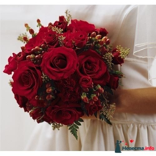 Фото 90159 в коллекции Букет невесты, подружек, и бутоньерка жениха! - Невеста Настенька